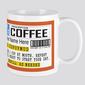 Personalized Prescription Coffee Mugs